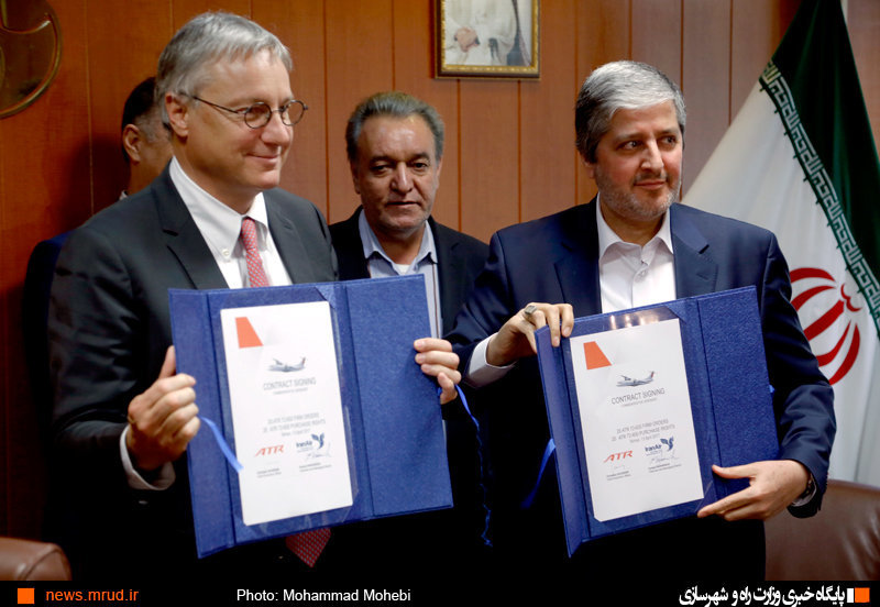 Iran Air secures final contract for purchase of 20 turboprops with ATR