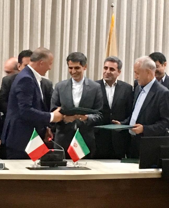 IRAN, GRUPPO FS ITALIANE SIGLA ACCORDI PER SVILUPPO SISTEMA FERROVIARIO