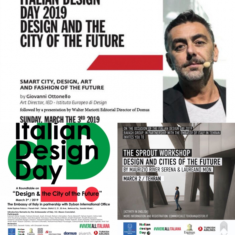 Terza edizione dell'Italian Design Day a Teheran