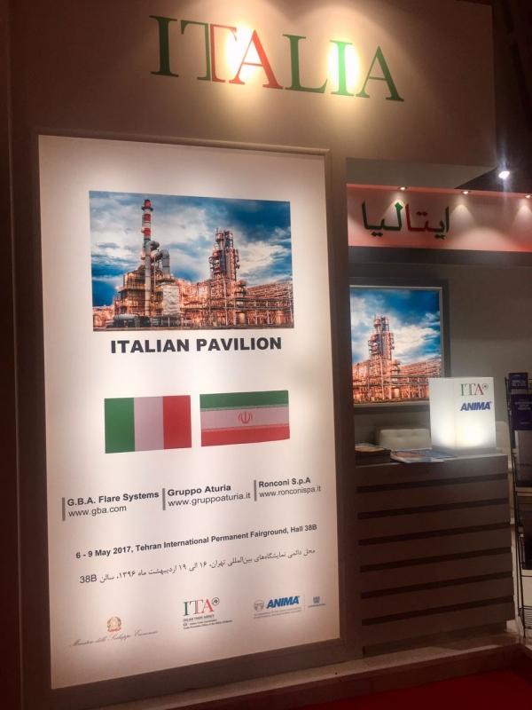 Partecipazione italiana all'Iran International Oil, Gas, Refining and Petrochemical Exhibition (Teheran, 6-9 maggio 2017)