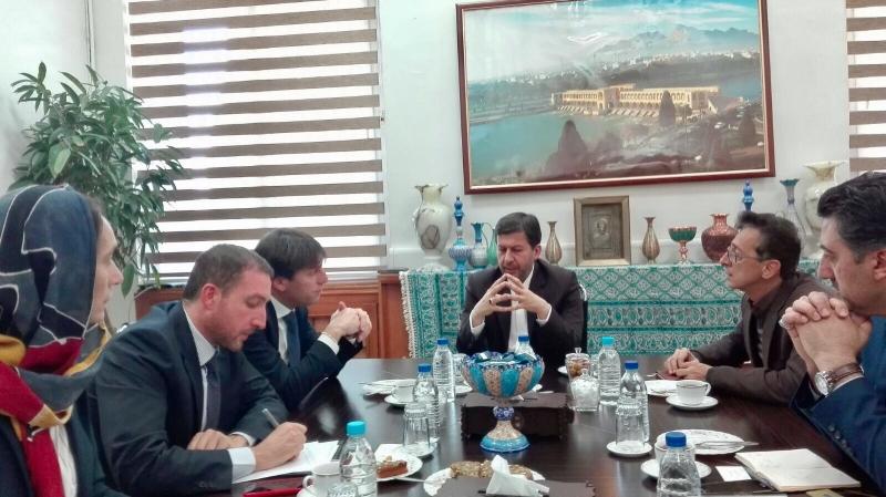 Visita in Iran del Vice-Presidente della Regione Lombardia