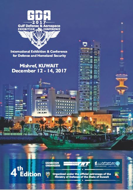 QUARTA EDIZIONE DELLA 'GULF DEFENSE AND AEROSPACE EXHIBITION CONFERENCE' (KUWAIT CITY, 12-14 DICEMBRE 2017)