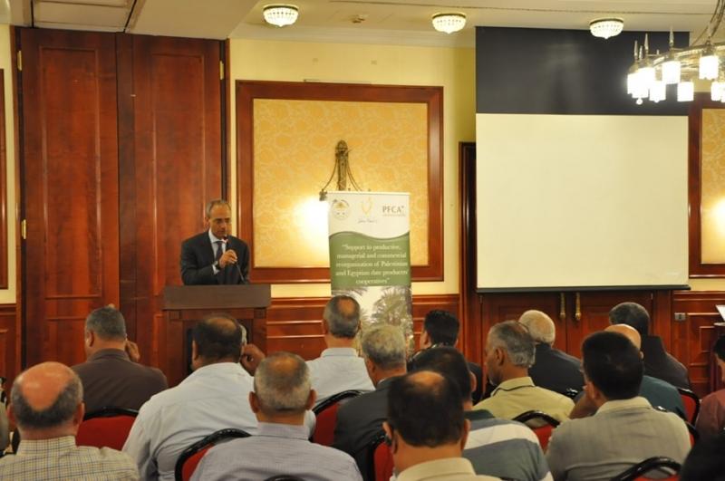 """""""Sostegno alla riorganizzazione produttiva, manageriale e commerciale delle cooperative di produttori di datteri Palestinesi ed Egiziani""""."""