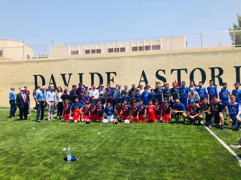 Campo di calcio intitolato ad Astori