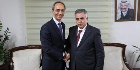 Incontro del Console Generale d'Italia con il Ministro del Local Government