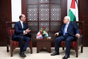 Visit of the Minister of Foreign Affairs and International Cooperation, Angelino Alfano, to Palestine.