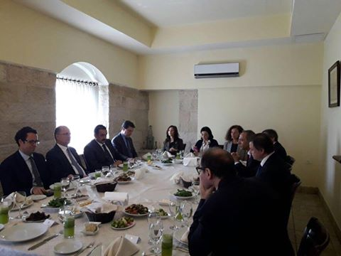 Visit of Minister of Economic Development Carlo Calenda
