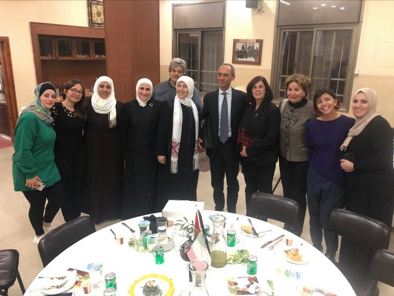 Degustazione a Nablus