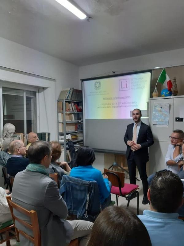 Lezione speciale in occasione della XIX Settimana della Lingua italiana nel Mondo