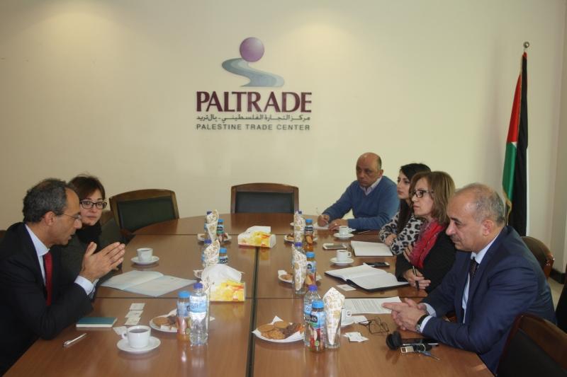 Incontro con il Chairman e la CEO di Paltrade