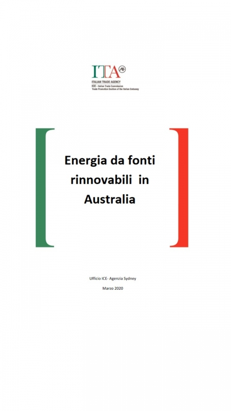 Energia da fonti rinnovabili in Australia