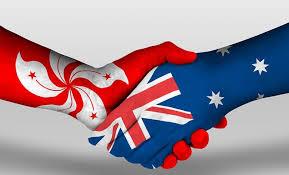 Firma dell'Accordo di libero scambio tra Hong Kong e Australia