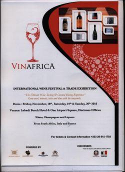 Manifestazione dedicata al mondo del vino VinAfrica
