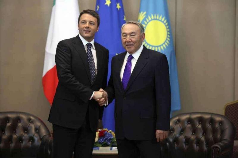 Visita a Milano del Presidente della Repubblica del Kazakhstan Nursultan Nazarbayev