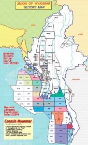 Il Myanmar assegna  le licenze dei blocchi oil & gas offshore