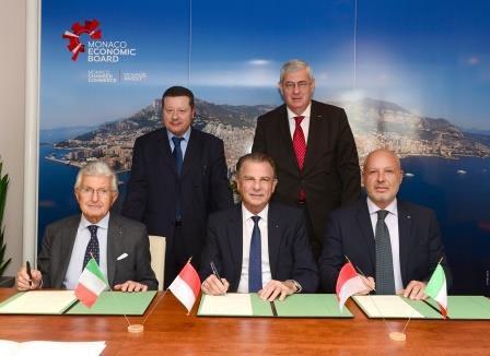 Firmato l'accordo di collaborazione economica tra il  M.E.B., A.I.I.M. e Sportello Italia.