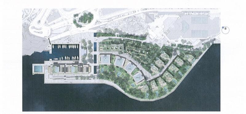 Progetto di estensione in mare. Firmato il 30 luglio 2015 il contratto di concessione tra Governo monegasco e ''SAM l'Anse du Portier