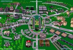 Aerotropolis - nuovi centri di affari, ospitalita' e commerciali per gli aeroporti di Lagos e Abuja
