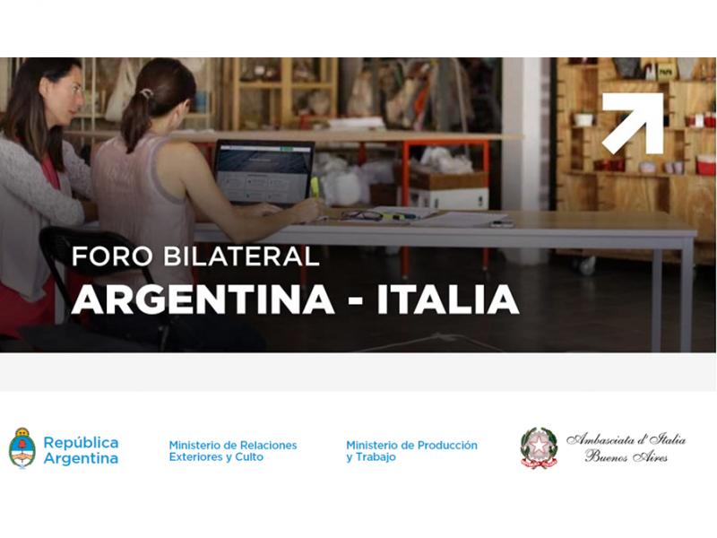 Aperto il Foro PMI  e start up innovative Argentina - Italia
