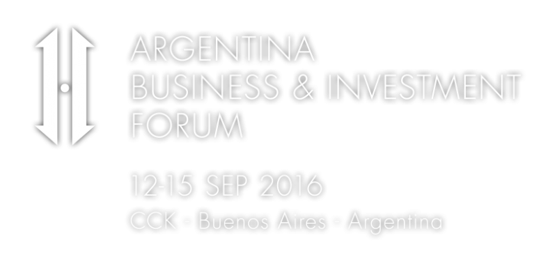 Argentina Business & Investment Forum (Buenos Aires, 12-15 settembre 2016)