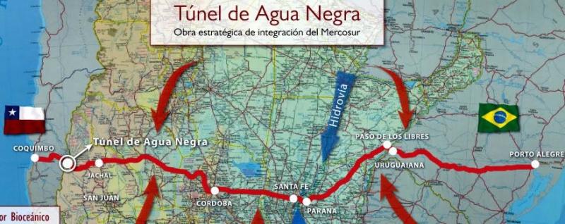 Approvato prestito BID per avviare la licitazione del tunnel del passo di Agua Negra