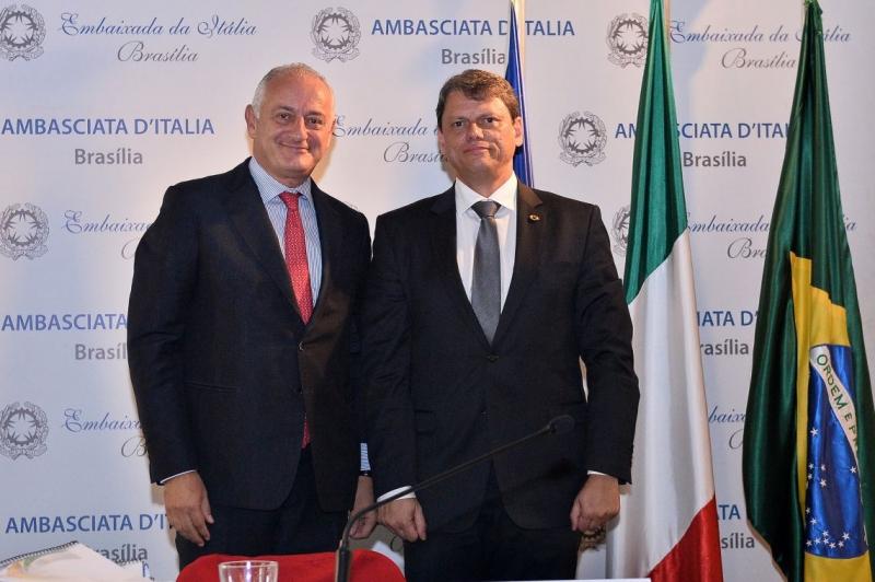 Incontro delle Imprese Italiane con il Ministro delle Infrastrutture Brasiliano