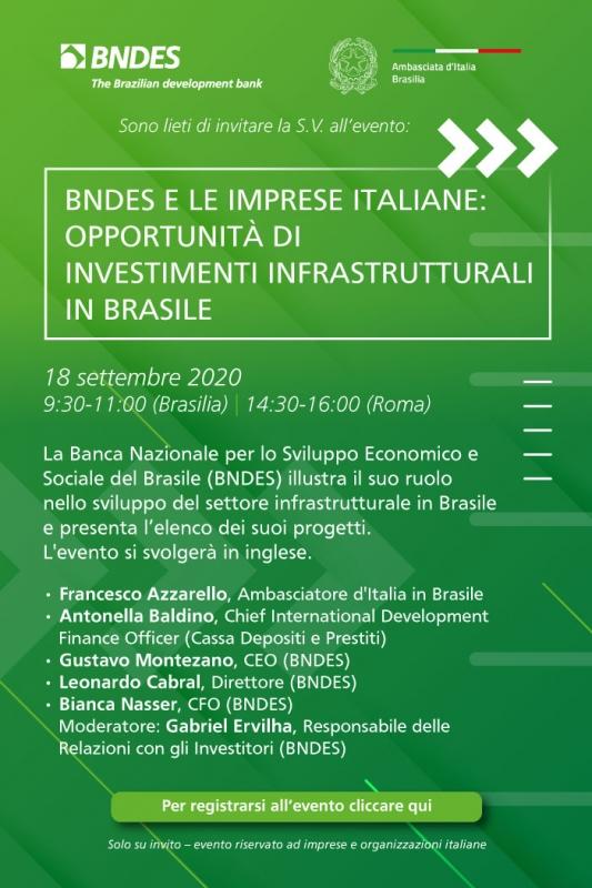 INCONTRO BANCA NAZIONALE SVILUPPO ECONOMICO E SOCIALE CON CASSA DEPOSITI E PRESTITI E SOCIETÀ ITALIANE