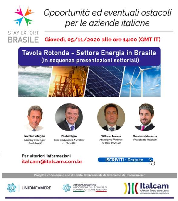 Settore Energia in Brasile: Opportunità ed eventuali ostacoli per le aziende italiane