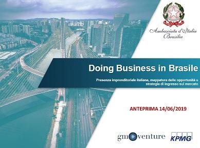 """Rio de Janeiro: presentata l'anteprima della guida agli investimenti """"Doing Business in Brasile"""""""