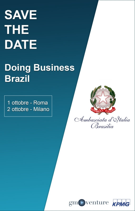 "Save the date ""Doing Business Brazil"""