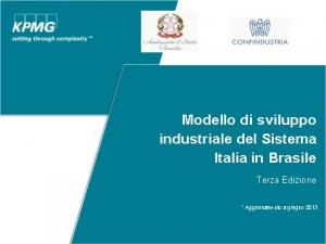 Vª Riunione del Consiglio di Cooperazione Italia-Brasile, Roma 25 ottobre 2013