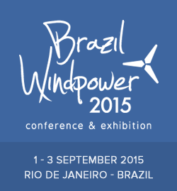 Brazil Windpower 2015 a Rio de Janeiro.