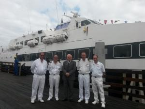 Nuovi collegamenti marittimi per il trasporto di passeggeri affidati alla SNAV di Napoli.