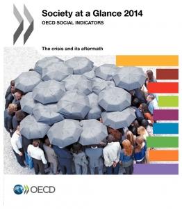 """Rapporto OCSE """"Society at Glance 2014"""". Il Cile - Paese Membro con il divario piú ampio tra i redditi."""