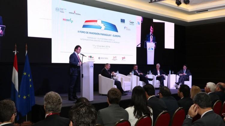 Prima giornata del Foro per gli Investimenti Paraguay-Europa