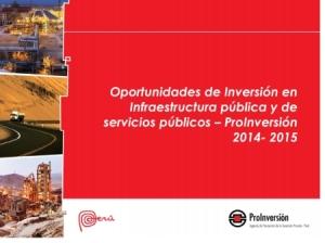 PERU - OPPORTUNITÀ DI INVESTIMENTI IN GRANDI OPERE