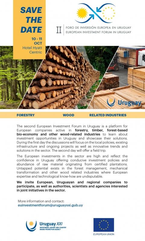 II Forum sugli investimenti europei in Uruguay