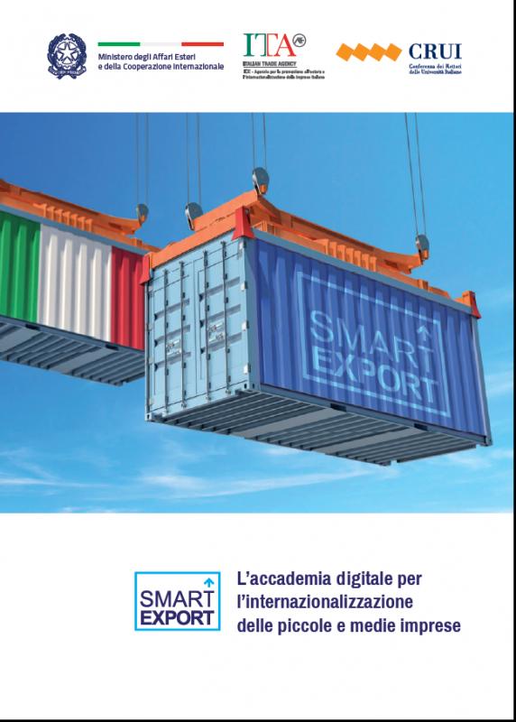Smart Export - L'accademia digitale per l'internazionalizzazione delle piccole e medie imprese