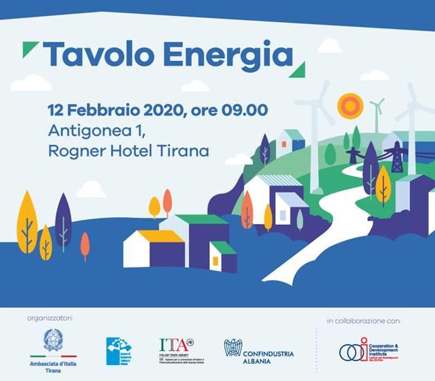 II RIUNIONE DEL TAVOLO ENERGIA