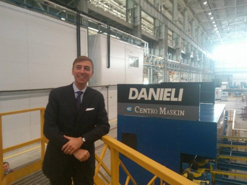 Inaugurato nuovo impianto metallurgico con tecnologia interamente italiana