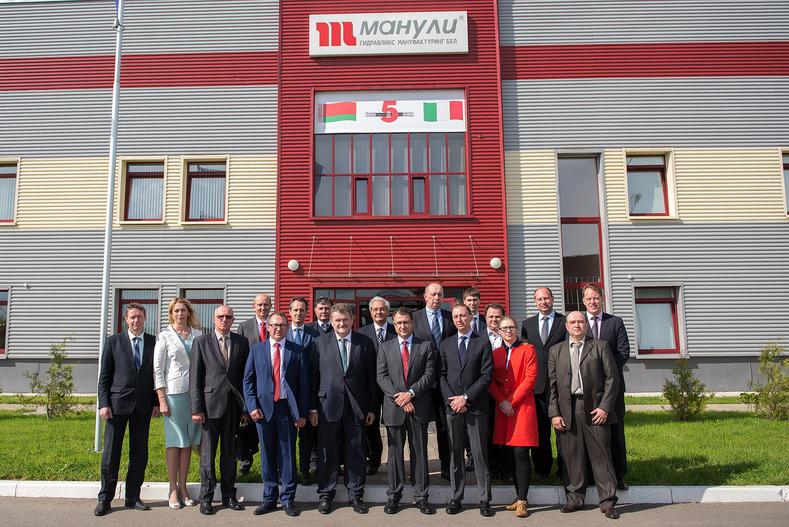5 anni di successi per la JV italo-bielorussa di Manuli nel settore tubi ad alta pressione