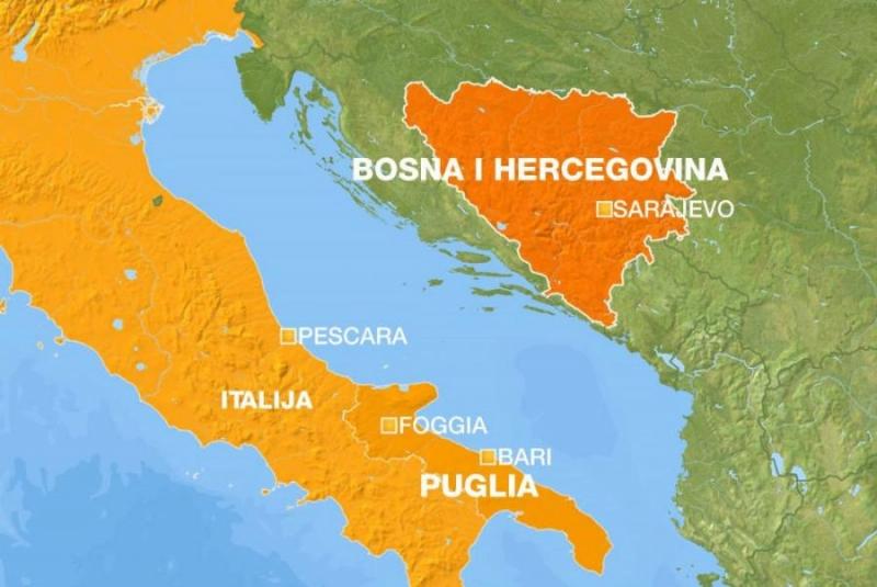 ITALIA E BOSNIA ERZEGOVINA: FIRMA DEL PROTOCOLLO DI COOPERAZIONE PARLAMENTARE