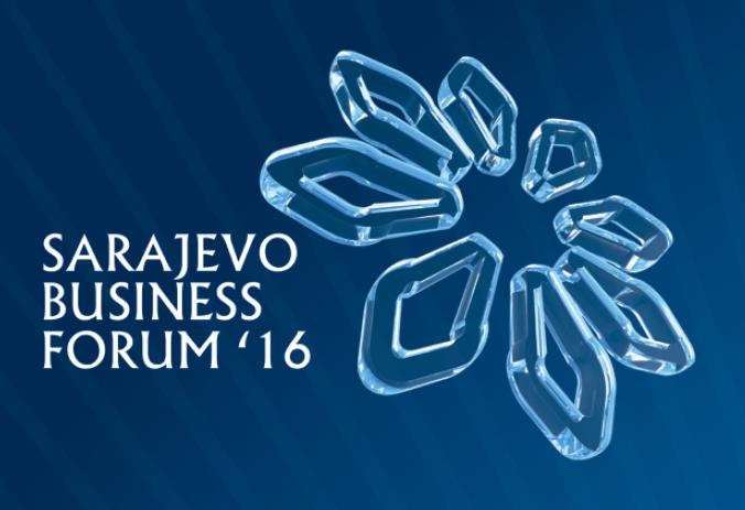 SARAJEVO BUSINESS FORUM: CONFERENZA INTERNAZIONALE PER GLI INVESTITORI 4 E 5 MAGGIO 2016