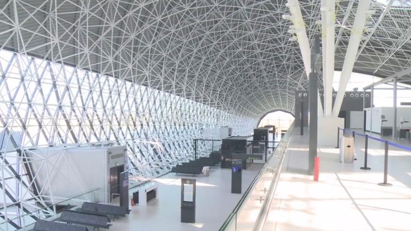 Aeroporto Zagabria : Inaugurazione del nuovo terminal passeggeri dell