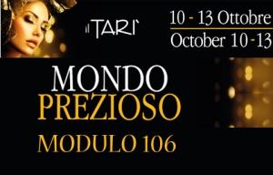 MONDO PREZIOSO, TARI, 10-13/10/2014