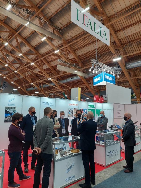 Diplomazia economica. Partecipazione italiana alla fiera Alihankinta 2021.