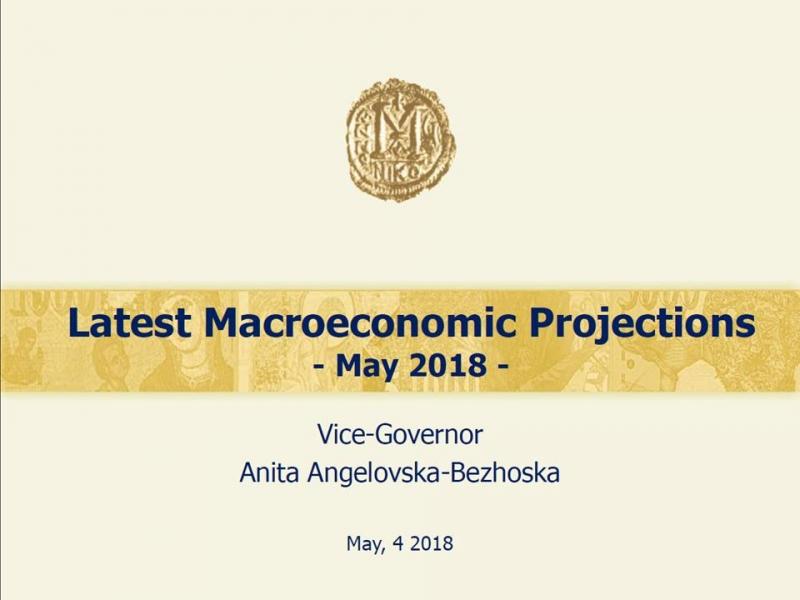 Banca Nazionale macedone: crescita al 3,2% nel 2018 e al 3,5% nel 2019