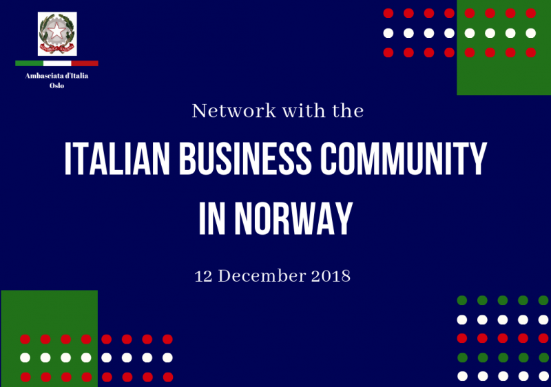 L'Italian business community in Norvegia si incontra ad Oslo