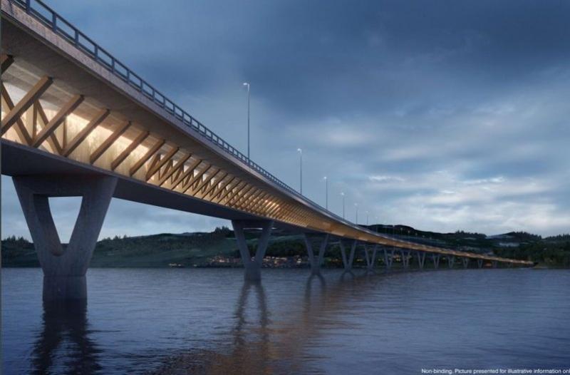 L'italiana Rizzani De Eccher prescelta per la progettazione e la costruzione della nuova autostrada E6 da Moelv a Roterud