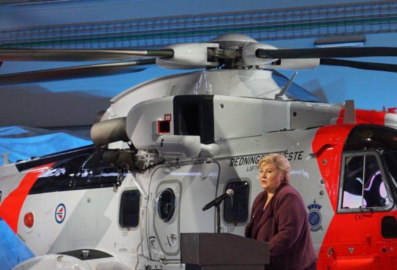 Operativi presso la base della Guardia costiera di Sola (Stavanger) i primi tre elicotteri AW101 consegnati da Leonardo Helicopters